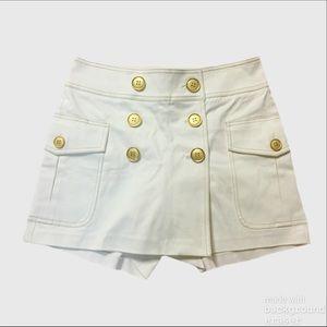 Cache White Sailor Skirt